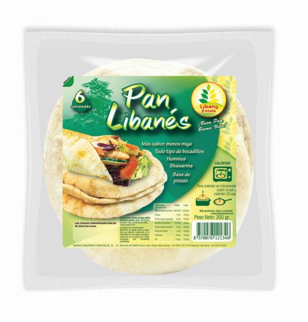 pan libanes al vacio