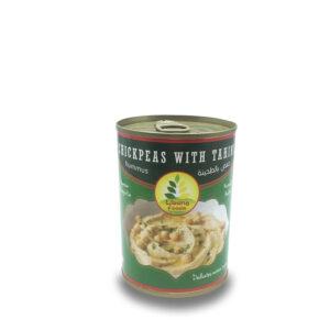 Hummus con tahini