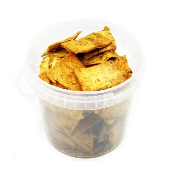 Pita chips con zaatar